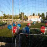 Buborékfocizók az IDUS 2018 sportnapján